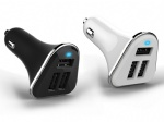 Round USB Car Charger CC03